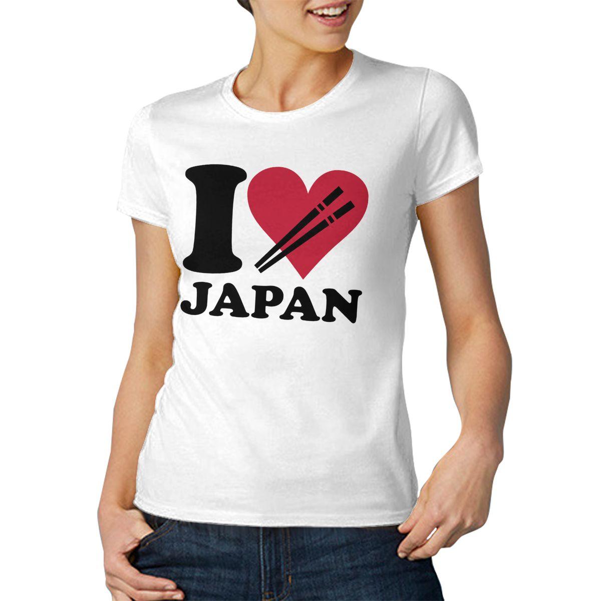 I LOVE JAPAN крутая и забавная Повседневная модная хлопковая футболка с коротким рукавом