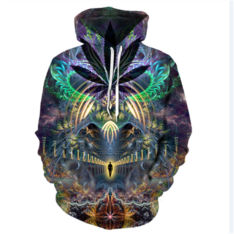 3D Printed Abstract Hoodies Men&Women 43