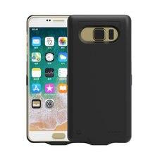 Wysokiej jakości nowy 10000mah kopia zapasowa zewnętrzna ładowarka etui do Samsung Galaxy Note 5 note5 N9200 ładowarka skrzynki pokrywa