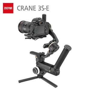 Image 4 - ZHIYUN Crane 3S  resmi vinç 3S/SE 3 Axis Gimbal el sabitleyici desteği 6.5KG DSLR kamera kamera Video kameralar nikon Canon için
