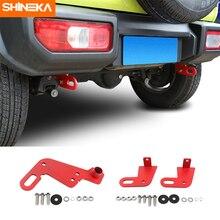 SHINEKA Towing Bars For Suzuki Jimny Car Front and Rear Bumper Bar Towing Trailer Hook Accessories For Suzuki Jimny 2019+