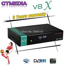 DVB-S2 gtmedia v8x receptor de satélite hd completo 1080p h.265 gt media v8 honra construído em wifi gtmedia v8 nova v9 super nenhum aplicativo