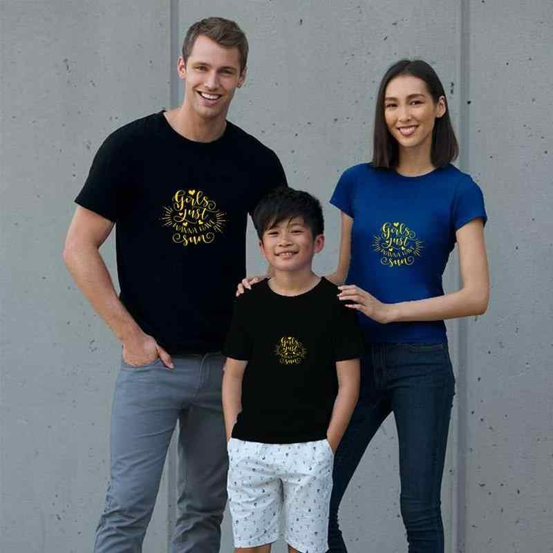 Print Girls Just Wanna Have Sun Shirt Summer Time t-shirt 3xl 4xl 79xl Short Sleeve lil peep Unisex men tshirts