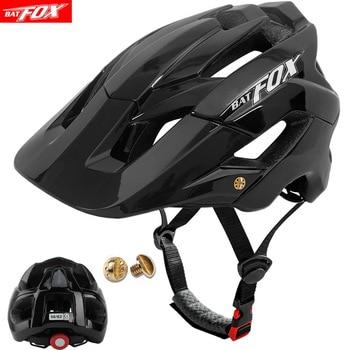 BATFOX-Casco de bicicleta ultraligero moldeado integralmente, M-XL de tamaño, para Ciclismo de...