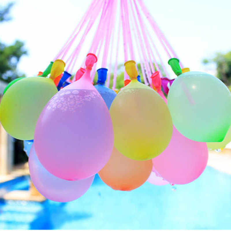 XXYYZZ 100 unids/lote de globo pequeño bomba de agua colorido inflable apple ball agua polo juguete niños cumpleaños fiesta suministros