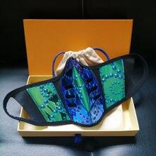 Mascarilla reutilizable para hombre y mujer, máscara de diseño a la moda, reutilizable, de boca