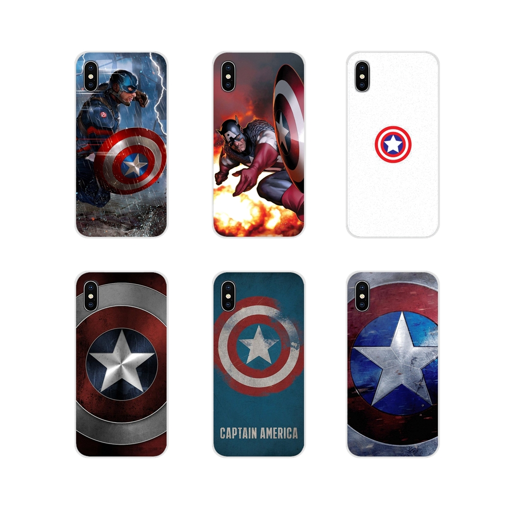 Phone Skin <font><b>Case</b></font> Marvel Avengers Captain America Shield For <font><b>Samsung</b></font> Galaxy J1 J2 J3 J4 J5 J6 <font><b>J7</b></font> J8 Plus 2018 Prime 2015 2016 <font><b>2017</b></font> image