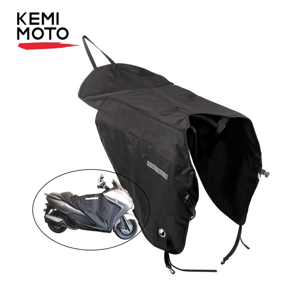 KEMiMOTO couverture de jambe pour moto couverture genouillère pluie vent Protection coupe-vent imperméable hiver couette pour BMW pour YAMAHA