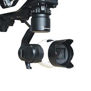 Image 1 - DJI OSMO 짐벌 카메라 렌즈 후드 안티 눈부심 눈부심 방지 ABS 보호 태양 그늘 커버 보호 케이스 바이저 DJI Inspire 1 X3