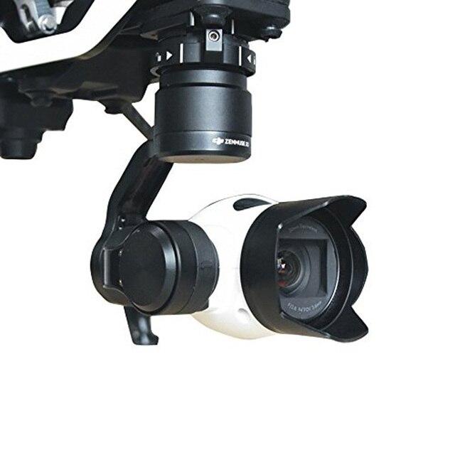 DJI OSMO 짐벌 카메라 렌즈 후드 안티 눈부심 눈부심 방지 ABS 보호 태양 그늘 커버 보호 케이스 바이저 DJI Inspire 1 X3