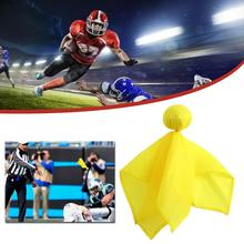 American Football Referee Props Small Yellow Flag Football Penalty Flag Flag Football Throwing Flag Accessories Penalty Fla Z5W6