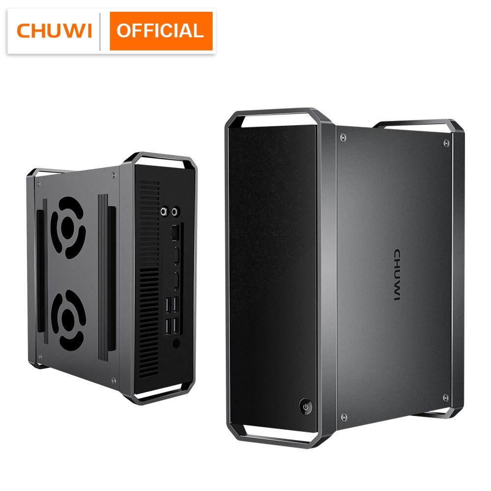 CHUWI CoreBox Мини ПК, Intel Core i5 ОС Windows 10, 8GB Оперативная память 256 ГБ Встроенная память, 2,5 дюймов HDD карты расширения, BT4.2, 2,4G/5G Wi-Fi 2 * HD