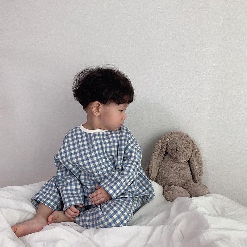 MILANCEL Baby Pajamas Set Korean Style New Style Baby Sleepwear Set Boys Girls Sleeping Set