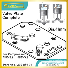 41 мм пластина клапана в комплекте предназначена для 4.5м3/ч цилиндра теплового насоса компрессоров, соответствующие 4FC-3.2(Y) и 4FC-5.2(Y