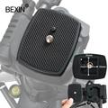 Штатив для камеры, трехмерный пластиковый адаптер для крепления камеры, головка штатива, быстросъемная пластина
