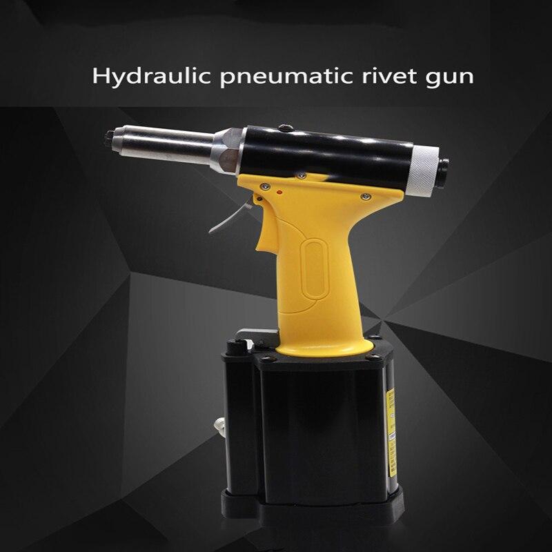 Промышленный Автоматический Пневматический заклепочный пистолет самозаправляющаяся нержавеющая стальная глухая заклепка пистолет