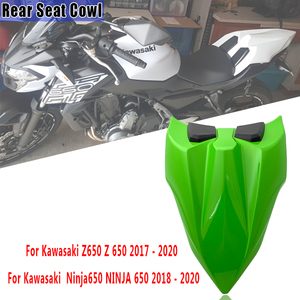 Free Shipping For Kawasaki Ninja650 Z650 2017-2020 Seat Cover Rear Pillion Passenger Solo Seat Cowl Hump Faring Ninja 650 Z 650