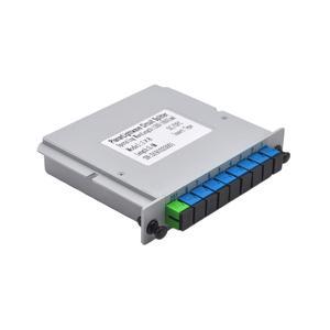 Image 5 - משלוח חינם 10 יח\חבילה SC UPC 1X8 סיבים אופטי FTTH קלטת תיבת אופטי מצמד SC UPC PLC 1X8 סיבי ספליטר תיבה