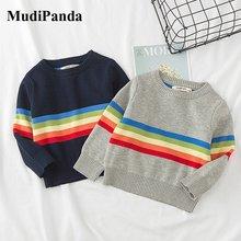 Mudipanda/Новинка 2020 года; Детские вязаные пуловеры; Топы