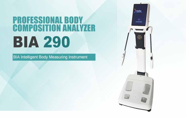 Multifrequenza analizzatore di grasso del corpo analizzatore di composizione