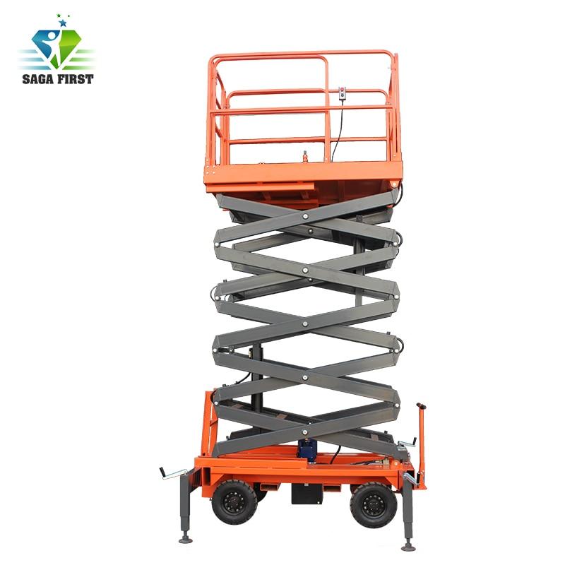 High Altitude Maintance Use Scissor Hydraulic Lift