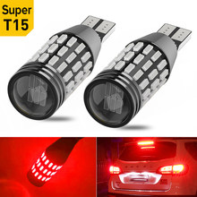 2x T16 W16W T15 Canbus Led Car Reversing Light For VW Golf 4 5 6 Passat B5 B6 Audi A3 A4 A6 Ford Focus 2 3 1 MK2 Fiesta BMW E46