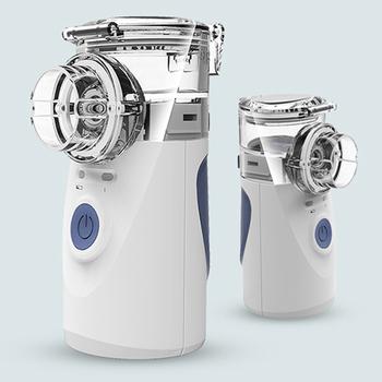 Medyczny nebulizator ręczny domowy przenośny inhalator parowy astma Atomizer dla dzieci opieka zdrowotna usb mini tanie i dobre opinie HealthMedE HMY-491S USB or AAA head Microporous Nebulizer White