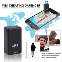 Mini Real-time Portable GF07 Tracking Device Satellite Positioning Against Theft for Car person and Moving Objects Tracking