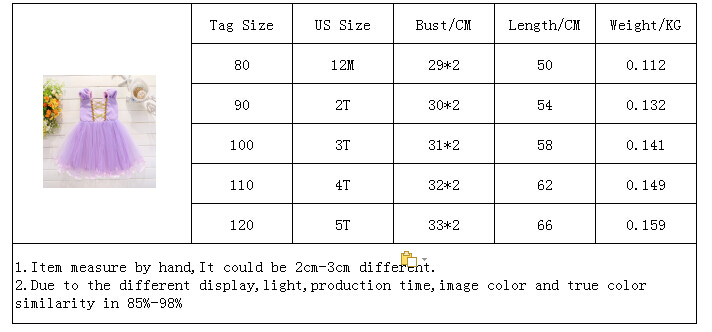 H47607e3565464012ab5b2f970626f3c88 Infant Baby Girls Rapunzel Sofia Princess Costume Halloween Cosplay Clothes Toddler Party Role-play Kids Fancy Dresses For Girls
