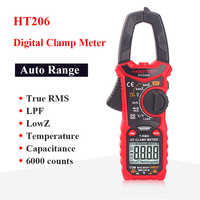 Habotest HT206B digital clamp meter true rms pinza amperimetrica multimetro pinza