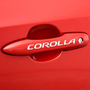 Corolla Door Handle Car Sticke