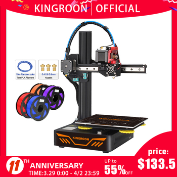 KINGROON KP3S 3D Printer High Precision Printing Upgraded DIY 3d printer Kit Touch Screen Pringting Size 180*180*180mm 1