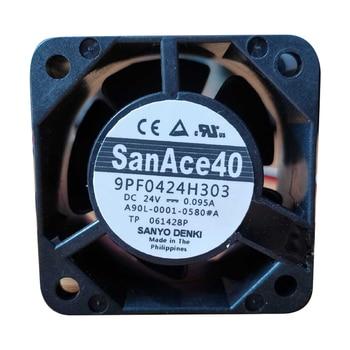 Sanyo A90L-0001-0580 # B 9PF0424H304 24V 0.095A Fanuc Fan 4CM