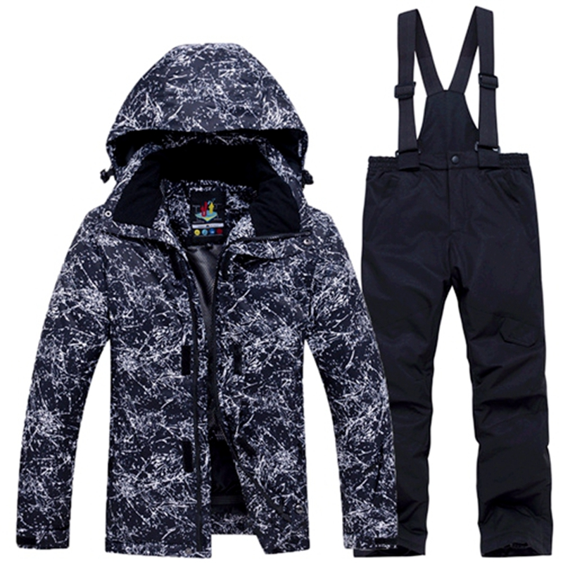 Russian Winter Children'S Ski Suit Boys Girls Snow Clothing Snowboarding Sets Waterproof Outdoor Sports Wear Ski Coat Pant