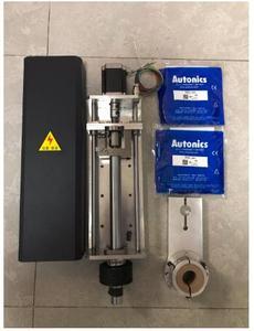 Image 1 - 200mm נסיעות 2150 mm/min CNC פלזמה חיתוך מרים Z ציר nema 23 מנוע צעד + אנטי התנגשות מהדק + 2pcs קרבה מתגי
