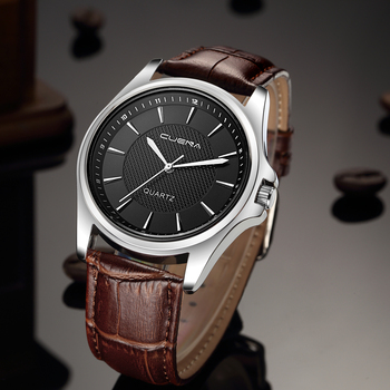 цены 2020 Clock Men Watches Top Luxury Brand Mens Watch Leather Band Analog Quartz Vogue Wrist Watches Relogio Masculino