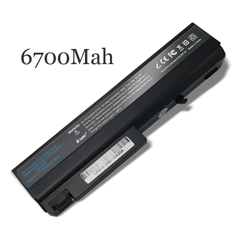 New Replacement Laptop Battery Internal For <font><b>HP</b></font> <font><b>6510b</b></font> 6515b 6710b 6910p 6715s NC6400 6100 image