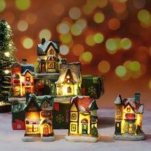 Миниатюрный Кукольный домик со светодиосветодиодный на день