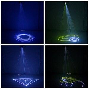 Image 5 - Karta SD DMX kolor RGB edytowalna animacja ILD muzyka projektor laserowy światła stroboskopowe dyskoteka DJ Club Stage kolor oświetlenie muzyczne