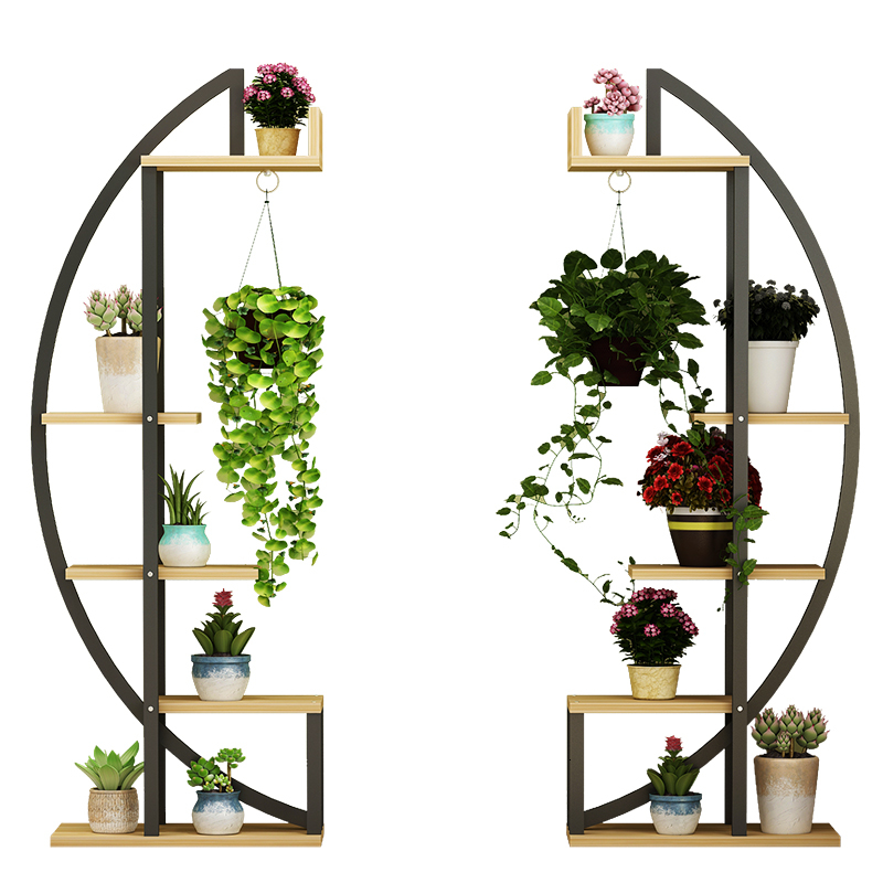 Modern Shelf  Simplicity A Living Room To Ground Flowerpot Frame Circular Multi-storey Chlorophytum Indoor To Ground