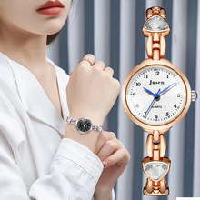 Love pattern design fashion women wrist watches 2021 new arrival stainless steel strap quartz-watch casual female watch gifts