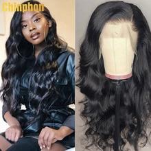 13x4 perucas frontal do cabelo humano do laço 32 Polegada perucas dianteiras do laço preplucked com perucas brasileiras do cabelo do bebê para a mulher preta