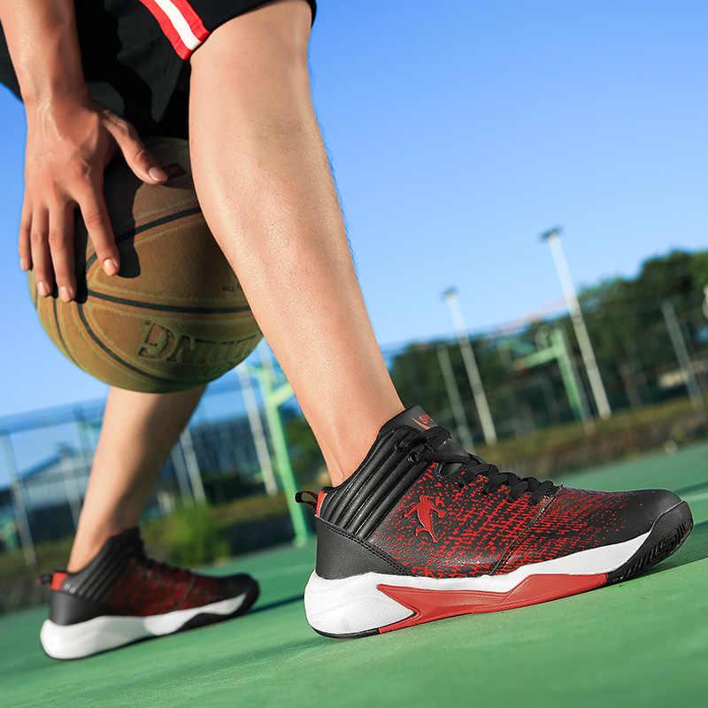NIKEZI High Top Homens Mulheres Boy Student Clássico Profissional Jogo Exercício da Prática de Basquete Sapatos Tênis Esportivos Sapatos Jordan