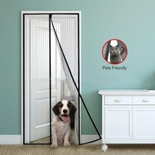 2019 Lightweight Anti-mosquito Screen Window Magnetic Insect Magic Door Net Screen Bug Mosquito Fly Insect Curtain Mesh Guard insect mosquito self adhesive window mesh door curtain