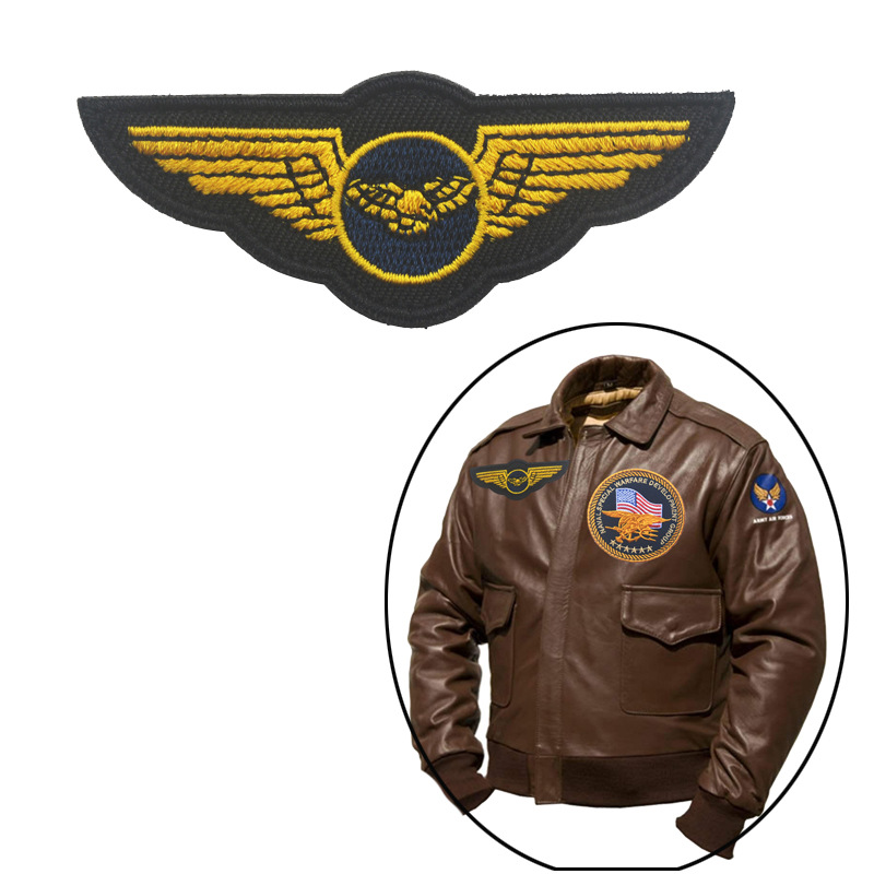 Bomber Jacket Badge Velcro Chapter Aberdeen