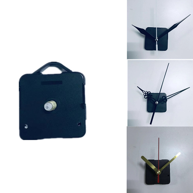 1 Set DIY M2188 Quartz Clock Movement 18mm Shaft Mechanism With Hook Watch Wall Clock Parts Repair Replacement Accessories