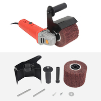 Multifunctional Burnishing Polishing Machine Part Kit with Sanding Wheel for 115 125 Angle Grinder Power Tool Accessories