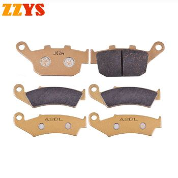 Motorcycle Front and Rear Brake Pads For Honda XL 600 XL600 XL600V Transalp 1997-2000 XL700V XL700 Transalp ABS 2008-2011 image
