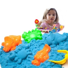 100g Dynamic Sand Toys Magic Clay Colored Soft Slime Toy Space Supplies Play Model Tools Cloud for Kid