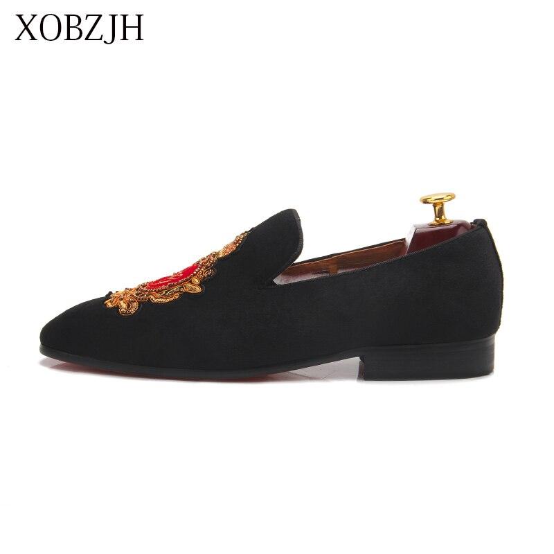 Итальянские Свадебные лоферы из натуральной кожи; Роскошные Мужские модельные туфли с красной подошвой; Дизайнерская обувь ручной работы; Высококачественная Мужская Брендовая обувь